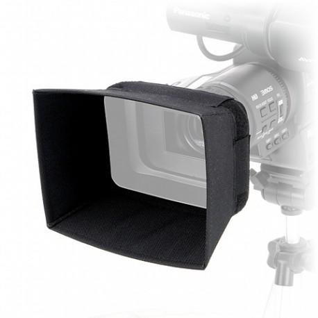 Lens Hood designed for Panasonic AG-HMC81E, Panasonic AG-AC90 and JVC GY-HM650.